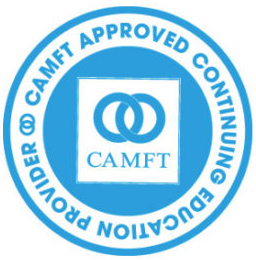 CAMFT Approved Continuing Education Provider Seal
