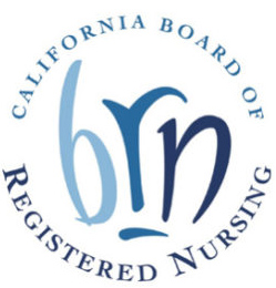 CA Board of Registered Nursing logo