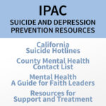 IPAC Updates: Suicide and Depression Prevention Resources