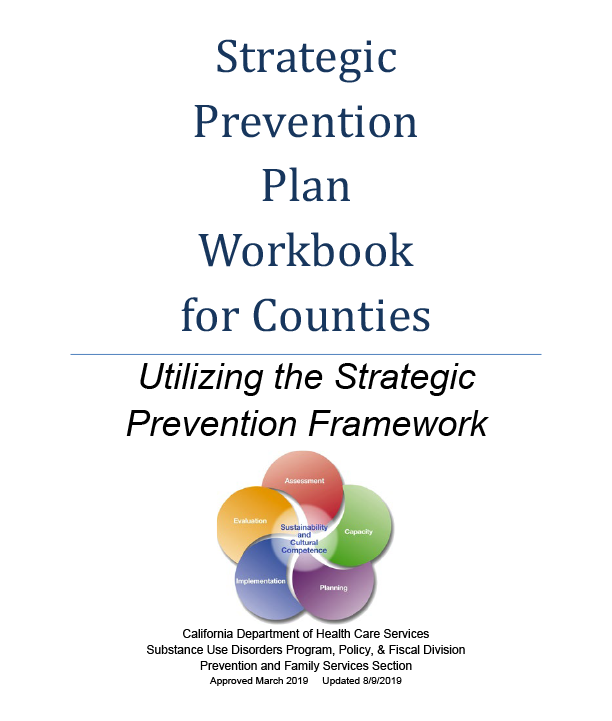 Strategic Prevention Plan (SPP) Workbook cover